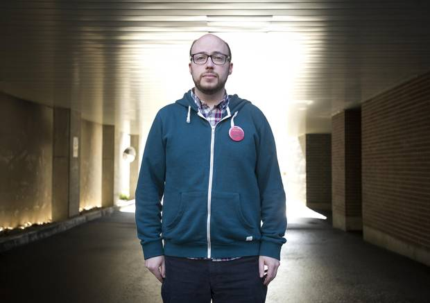 Giller Prize winner Sean Michaels,