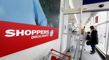 A Shoppers Drug Mart location at Woodbine and O'Connor Avenues in Toronto. (The Globe and Mail/Deborah Baic)
