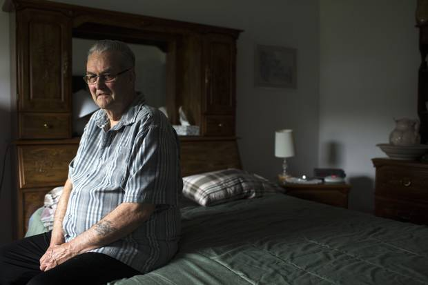 Infantry veteran Peter Anderson says his son, Ron, was showing signs of PTSD before his second tour of Afghanistan in 2007.