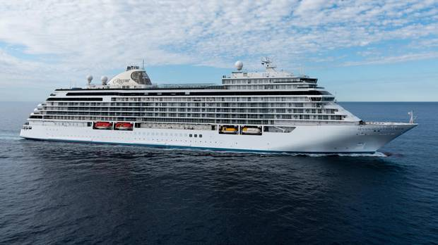 Cruising on the Regent Seven Seas Explorer, which bills itself as The Most Luxurious Ship Ever Built.
