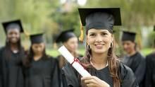 Female graduate student (iStockphoto/iStockphoto)