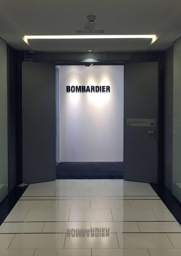 Bombardier's office in Kuala Lumpur.