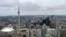 Various file photos of Toronto as seen from the Goodyear Blimp which was flying over Toronto at about the 400 metre height, give or take. (Fred Lum/The Globe and Mail)