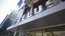 Telus store at 25 York st. in downtown Toronto. July 15, 2013. (GLORIA NIETO FOR THE GLOBE AND MAIL)