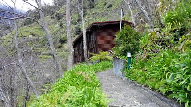 The Dorisol Pousada dos Vinhaticos cabin.