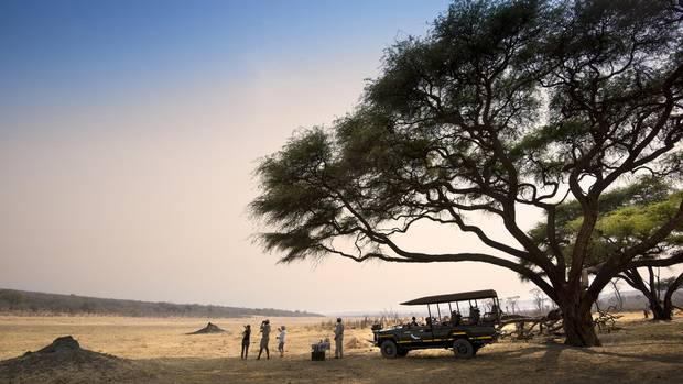 Matetsi Private Game Reserve in northern Zimbabwe.