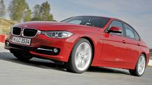 The new 3-Series is scheduled to arrive in February. (BMW)