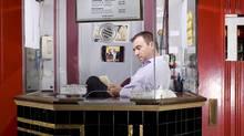 Ticket seller Mario Livich (Nick Westover/© 2009 Nick Westover)