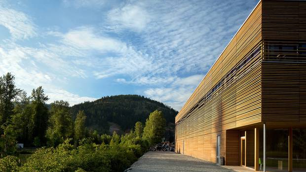 Innovation in wood: One of the Governor General's Medals in Architecture goes to the BC Passive House Factory by Hemsworth Architecture.