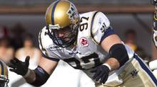 Winnipeg Blue Bombers defensive tackle Doug Brown. (Darren Calabrese/The Canadian Press)