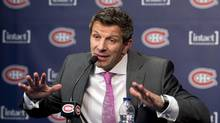 Marc Bergevin of the Montreal Canadiens (Ryan Remiorz/THE CANADIAN PRESS)