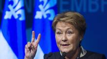 Support for Pauline Marois's Parti Québécois has climbed to 36 per cent, a Léger Marketing poll shows. (Graham Hughes/The Canadian Press)