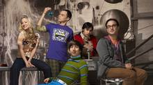 The Big Bang Theory (CBS, CTV, 8 p.m.) is network television's most-watched comedy series.