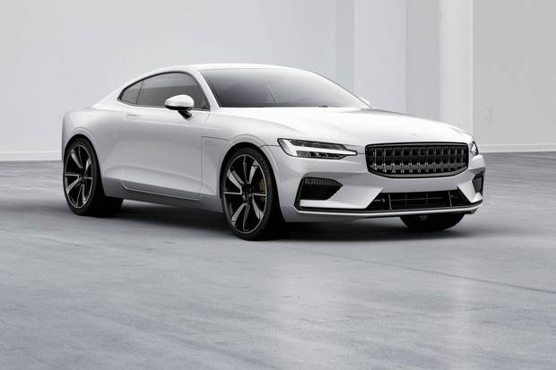 The new Polestar 1 is from VolvoÕs performance line of vehicles. Photographer: Petter Borg