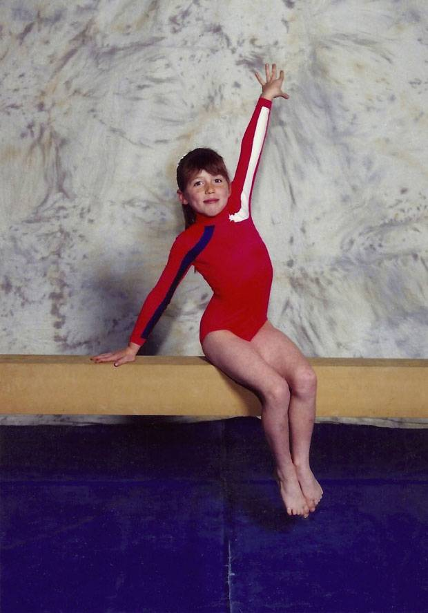 Are Young teen girl gymnastics have hit
