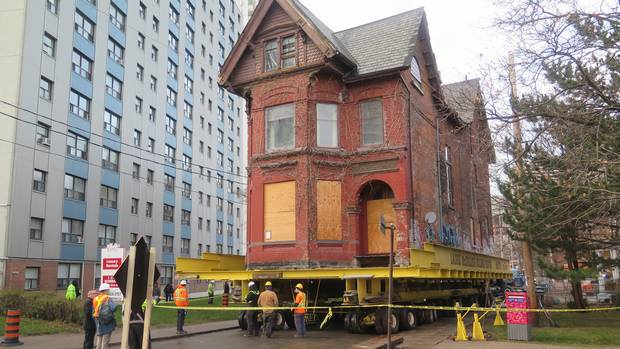 76 Howard St. on the move.