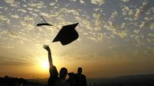 Graduation at An-Najah: 'I want the occupation to end, but I am also a human being with dreams and hopes for the future.' (JAAFAR ASHTIYEH/AFP/Getty Images)
