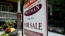 For sale sign on Euclid Avenue in Toronto. (1--Sarah Dea/The Globe and Mail)