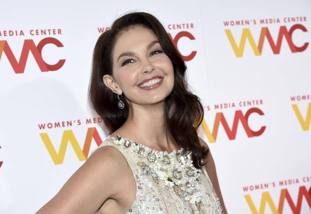 Actress Ashley Judd attends the Women's Media Awards at Capitale in New York on Oct. 26, 2017.