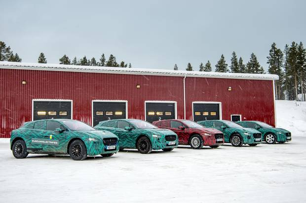 The car is undergoing winter testing ahead of its global debut.