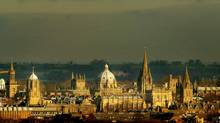The Rhodes gives students an all-expenses-paid ticket to Oxford University for two years of postgraduate study. (Peter Macdiarmid/Reuters)