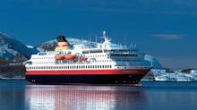Hurtigruten?s NordNorge sailed into Guinness Book of World Records for longest live TV documentary broadcast.