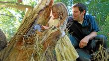 Matt McPherson and his daughter Davis are geocaching fans (Tim Fraser for The Globe and Mail)