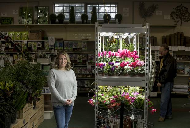 Emily Tregunno, co-owner of The Halifax Seed Company, poses at the family-owned business.