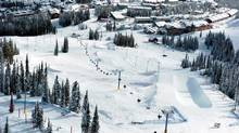 Big White Ski Resort in Kelowna, B.C.