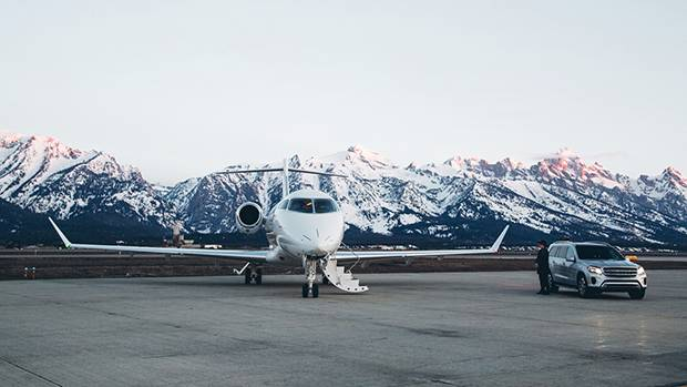Four Seasons has partnered with Net Jets to offer travel packages to destinations such as Jackson Hole, Wyo.