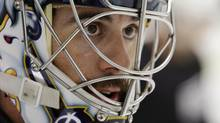 Buffalo Sabres goalie Ryan Miller (David Duprey/The Associated Press)