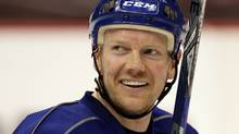 The Toronto Maple Leafs have announced they will honour Mats Sundin ahead of their February 11 game against Montreal. FILE: THE CANADIAN PRESS/Darryl Dyck (Darryl Dyck/THE CANADIAN PRESS)