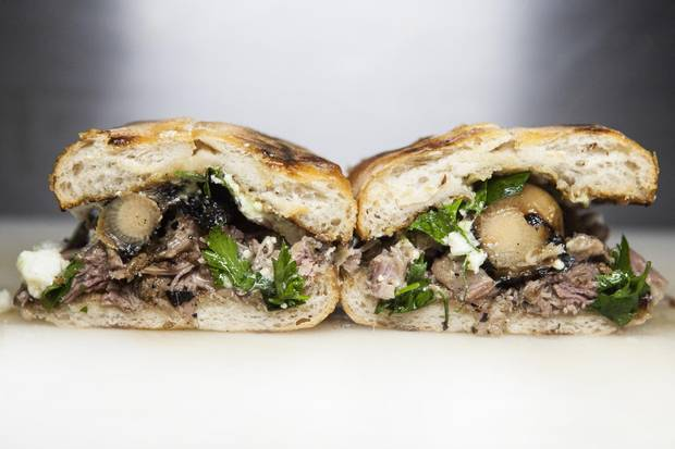 Bravo Loncheria offers tortas, a food as common as tacos in Mexico, but with sophisticated fillings including braised short ribs, fried squid and smoked marlin. The sandwiches are more expensive than street tortas, but not necessarily superior.