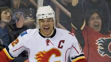 Calgary Flames' Jarome Iginla THE CANADIAN PRESS/John Ulan (John Ulan)