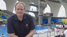 SendtoNews founder Keith Wells at FINA World Championships in Shanghai, China (SendtoNews/SendtoNews)