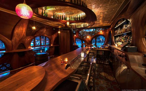 Bar Raval has been referred to by some as 'the most beautiful bar in Toronto.'