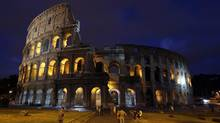 A view of Rome's ancient Colosseum. (TONY GENTILE/REUTERS/TONY GENTILE/REUTERS)