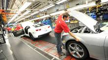 GM assembly line in Oshawa, Ont. (Kevin Van Paassen/Staff)