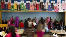 Students at John A. Leslie School in Scarborough despite the neighbourhood's low income thanks to strong leadership and extracurricular activities. (Peter Power/The Globe and Mail)