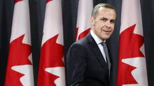 Bank of Canada Governor Mark Carney, in Ottawa on Nov. 26. (CHRIS WATTIE/REUTERS)
