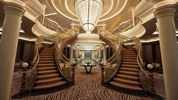 From grand staircases to the top-notch room service, every square inch of Regent's Seven Seas Explorer has been engineered to impress its patrons.