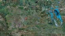 A Google screengrab shows Herschel, Sask. (Google Maps/Google Maps)
