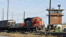 Canadian National Railway is one of seven TSX-listed industrial stocks that satisfied four key technical indicators. (Graham Hughes/The Canadian Press)