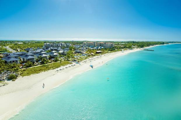 Beaches Turks and Caicos Resort Villages and Spa sprawls across 26 hectares on Grace Bay, a 19-kilometre sweep of white sand and turquoise waters that is often voted one of the most beautiful beaches on Earth.