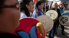 Some native leaders have already promised court battles if pipelines are approved. (JONATHAN HAYWARD/THE CANADIAN PRESS)