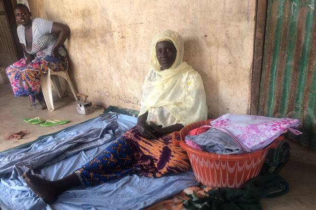 Fanta Niang, 60, lost her 20-year-old son Sendou Kane in Libya last year. After his father's death, he left his village to try to make it to Europe. One day last year the family received a call from a relative saying that Sendou had been in a boat that sank off the Libyan coast.