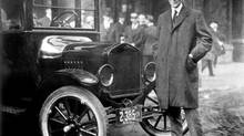 Automotive pioneer Henry Ford and his now-iconic Model T. (The Henry Ford Collection)