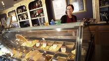 Anna Nelson moved to Columbus from Iowa, where she works at a high-end chocolate shop in downtown Westerville, a Columbus suburb. She is photographed on Oct 16, 2012. (Moe Doiron/The Globe and Mail)