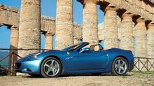 This is its first summer in Canada for the Ferrari California, where it sells for $249,000. (Michael Bettencourt/Michael Bettencourt for The Globe and Mail)