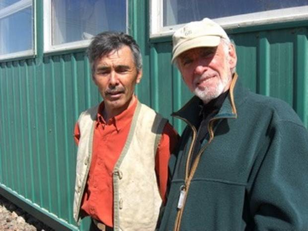 Mr. Ryan's closest associate was Jimmy Manning, left, his devoted right-hand man at the co-op for decades.